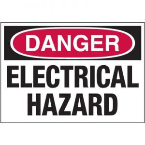 Electricical Hazard